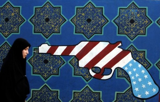 "More Iranian ""art."" This time a nice mural."