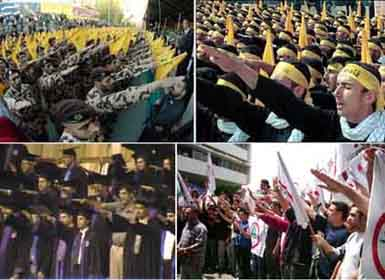 "Here are some of Iran's friends. They call themselves ""Hezbollah."""