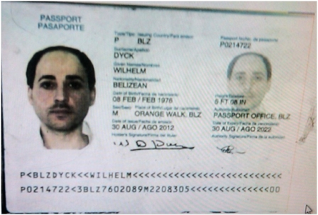 Fake Belize passport used by Hezbollah terrorist Rafic Mohammad Labboun Allaboun arrested in Mexico