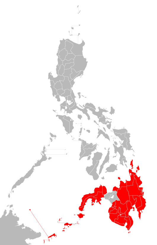 Philippine island of Mindanao, site of bloody Jihadist insurgency