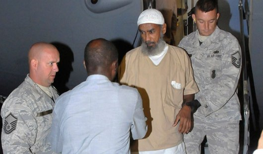 Ibrahim al-Qosi, shown here in U.S. custody...before Obama released him to become a leader of the global Jihad movement.