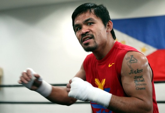 Philippine Boxer Manny Pacquiao