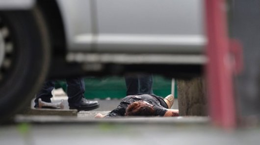 The dead victim of the machete attack in Germany on 24 July 2016