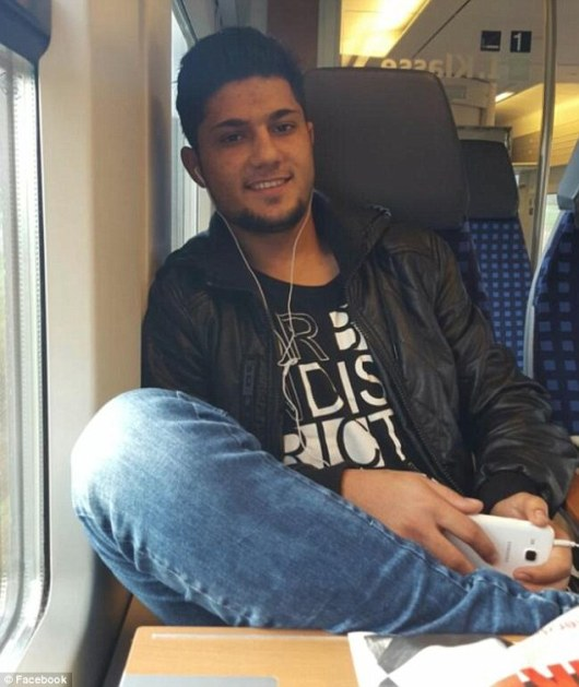 Riaz Khan Ahmadzai, who attacked passengers on a  German train on 19 July