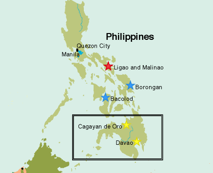 Philippines Mindanao Map Terror Trends Bulletin