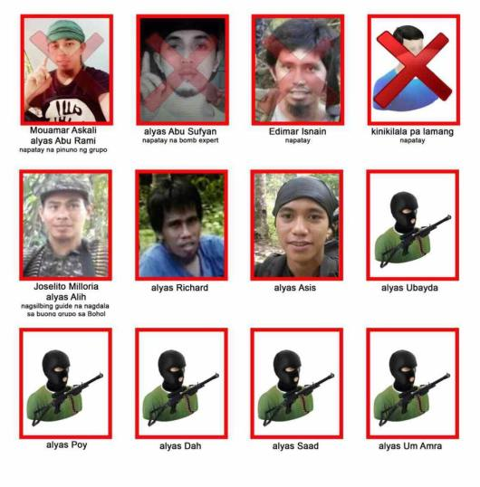 Abu Sayyaf most wanted poster